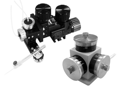 MHW-3 Three-axis Water Hydraulic Micromanipulator