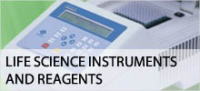 Life science instruments and reagents